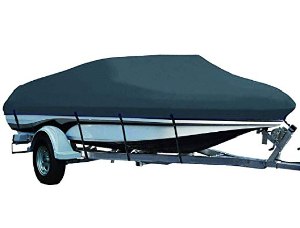 Silver Lunatic 14/' 16/' V-Hull Fishing Boat Cover